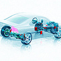 Transparent Car Concept Made In 3d Graphics 7 by Jeelan Clark