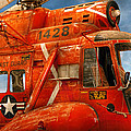 Transportation - Helicopter - Coast Guard Helicopter by Mike Savad