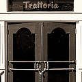 Trattoria Door Palm Springs by William Dey