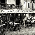 Trattoria In Venice  by Madeline Ellis