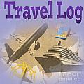 Travel Log by Tina M Wenger