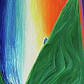 Travelers Rainbow Waterfall By Jrr by First Star Art