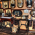 Treadle Sewing Machines by Kaye Menner
