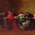 Treason, 1867 by John Pettie
