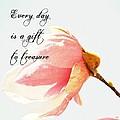 Treasure Each Day Tulip Tree Flower by P S