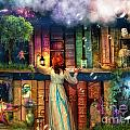 Fairytale Treasure Hunt Book Shelf Variant 2 by MGL Meiklejohn Graphics Licensing