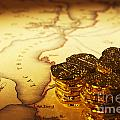 Treasure Map And Doubloons by Colin and Linda McKie