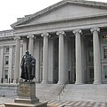 Treasury Department Washington Dc by Christiane Schulze Art And Photography