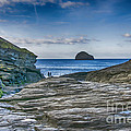 Trebarwith Strand Cornwall by Chris Thaxter