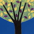 Tree In Blue by Laura Nugent