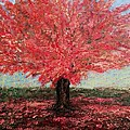 Tree In Fall by Suniti Bhand