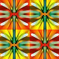 Tree Light Square Pattern by Amy Vangsgard