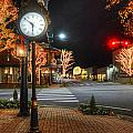 Tree Lights In Fairhope by Michael Thomas
