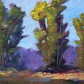 Tree Line by Nancy Merkle