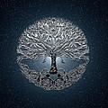 Tree Of Life Nova Blue by Amelia Carrie