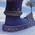 Tree On Shoe by Nafets Nuarb