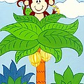 Tree Top Monkey by Valerie Carpenter
