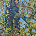 Tree With Green Leaves by Rosemary Cotnoir