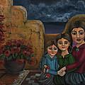 Tres Mujeres Three Women by Victoria De Almeida
