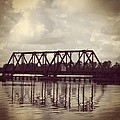 Trestle On The Pamlico River by Joan Meyland