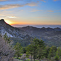 Trevenque Mountain At Sunset  2079 M by Guido Montanes Castillo