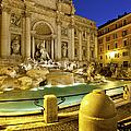 Trevi Fountain by Brian Jannsen