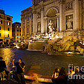 Trevi Fountain by David Davis