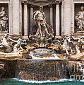 Trevi Fountain by John Wadleigh