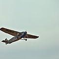 Tri-motor Overhead by Gordon Elwell