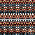 Triangle Seamless Tile Pattern by Richard Laschon