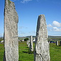 Triangular Callanish Stone by Denise Mazzocco