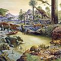 Triassic Landscape by Publiphoto