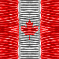 Triband Flags - Canada by Carl Scallop