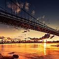 Triboro Sunset by Mihai Andritoiu