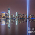 Tribute In Light Reflections by Michael Ver Sprill
