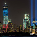 Tribute In Light Xiii by Clarence Holmes