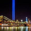 Tribute Lights From Brooklyn by Jerry Fornarotto
