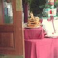 Little Italy - Rustic Door by Miriam Danar