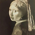 Tribute To Vermeer Homenaje A Jan Vermeer by Fernando A Hernandez