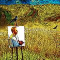 Tribute To Vincent Van Gogh - His Final Days by Jose A Gonzalez Jr