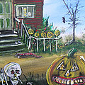Trick Or Treat Night 5 by Gerald Rader