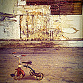 Tricycle In Abandoned Room by Jill Battaglia