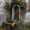 Tricycle Parked In Alleyway by John Shaw
