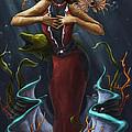 Tridacna - Red by Michael Trujillo