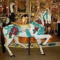 Trimper's Carousel 3 by Francie Davis