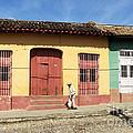 Trinidad Streets Cuba by James Brunker