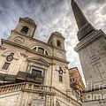 Trinita Dei Monti Church by Yhun Suarez