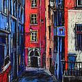 Trinite Square Lyon by Mona Edulesco