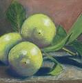 Trio Of Lemons by Ellen Minter