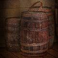 Triple Barrels by Susan Candelario